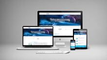 上海微销信息科技有限公司官网界面设计