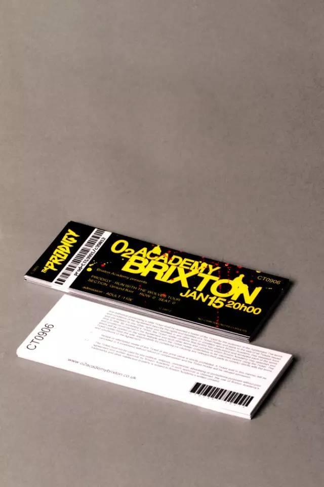 怎么设计门票?国外创意门票设计图片欣赏