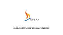 金帆舞蹈班logo设计