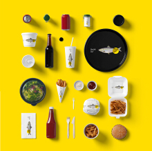 【匠南广告】VI设计 餐饮食品美食全套VI定制全案VI设计