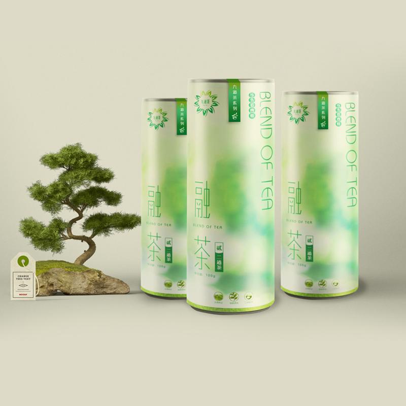 融茶铁罐包装设计