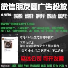 威客服务:[126640] 朋友圈广告投放运营宣传收集销售线索