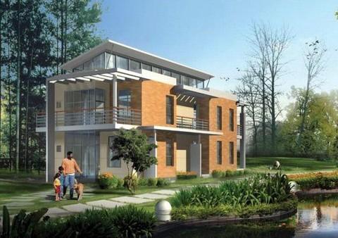 自建单体花园别墅征集设计方案