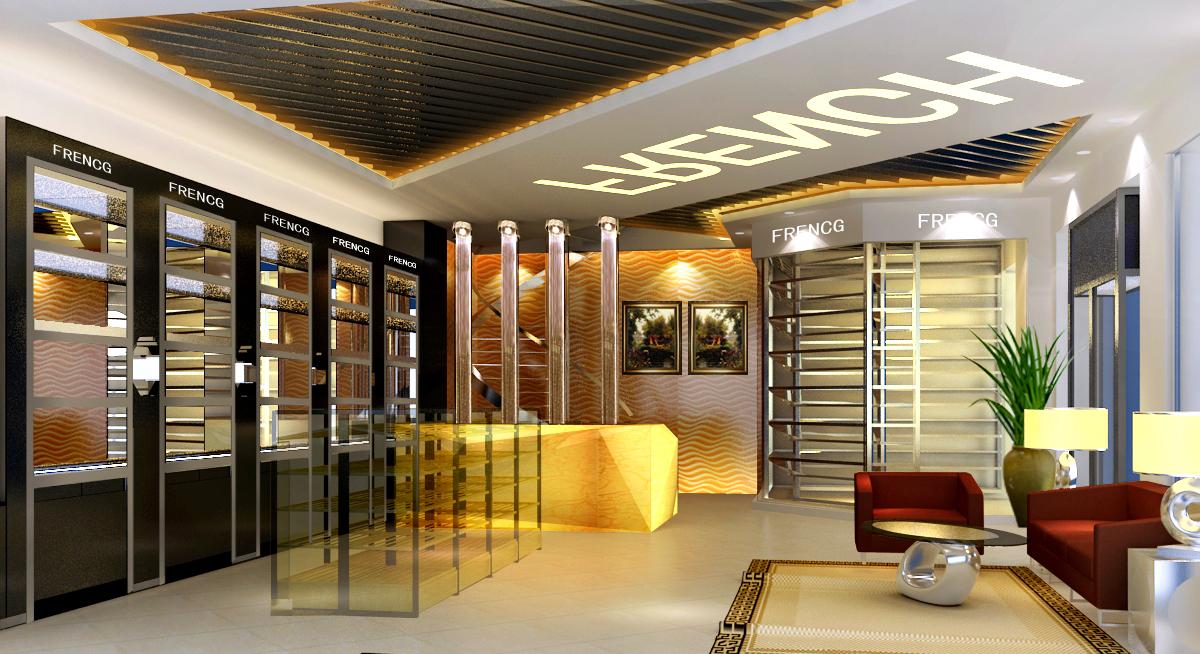 > 店面装修设计 商铺名称:爱德纶装饰设计有限公司 服务名称:欧尊酒庄