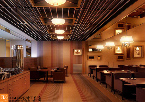 餐饮空间设计_fogdog设计工作室案例展示_一品威客网图片