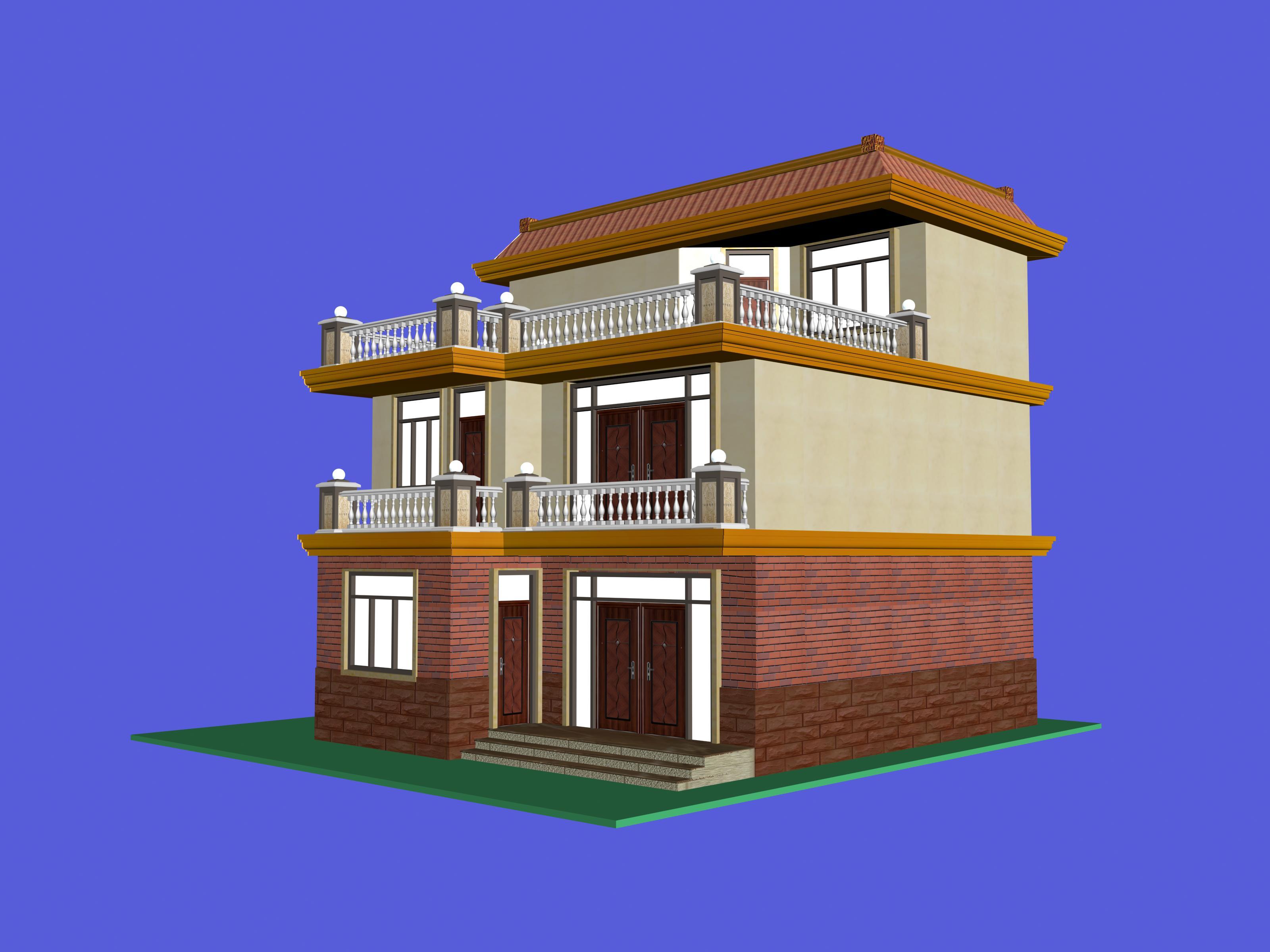 中式小楼设计图展示