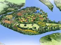 大涵山江有机休闲会馆规划设计