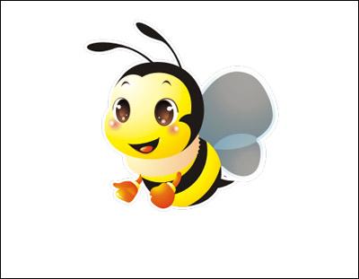 蜜蜂卡通形象设计欣赏