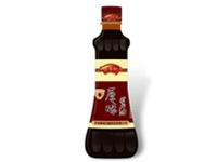 源溪坊酱制品瓶形瓶标包装设计