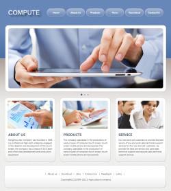 企业网站模板案例