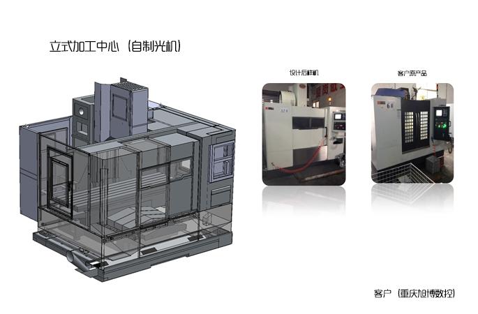 立式加工中心(自制光机)