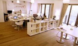 小型企业办公室装潢创意设计思路