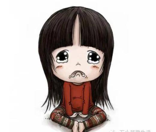 小女孩的手绘动漫图欣赏