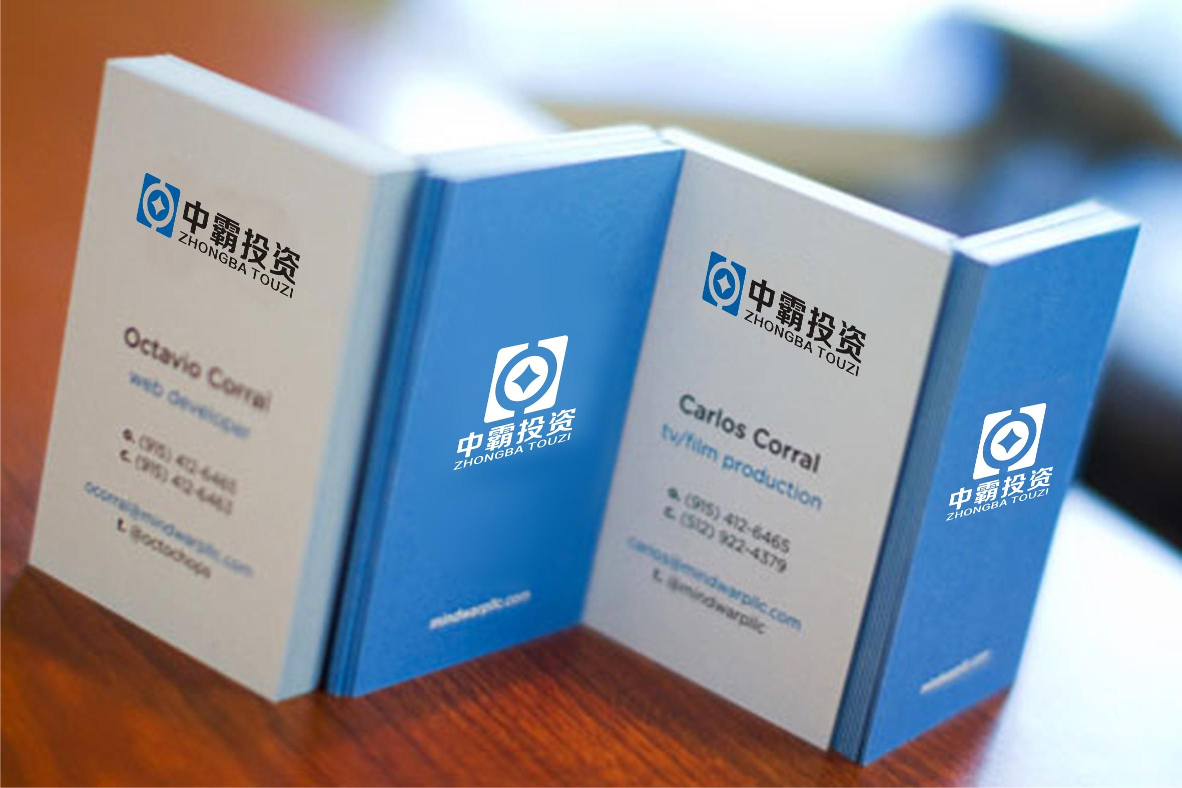 中霸投資logo設計