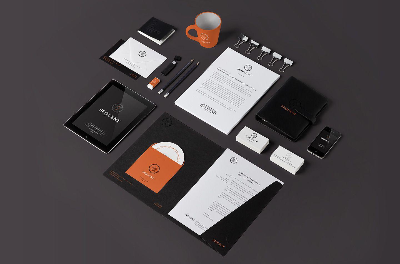 Sequent品牌营销VI视觉设计