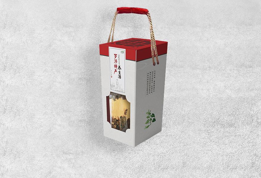 罗浮酒包装
