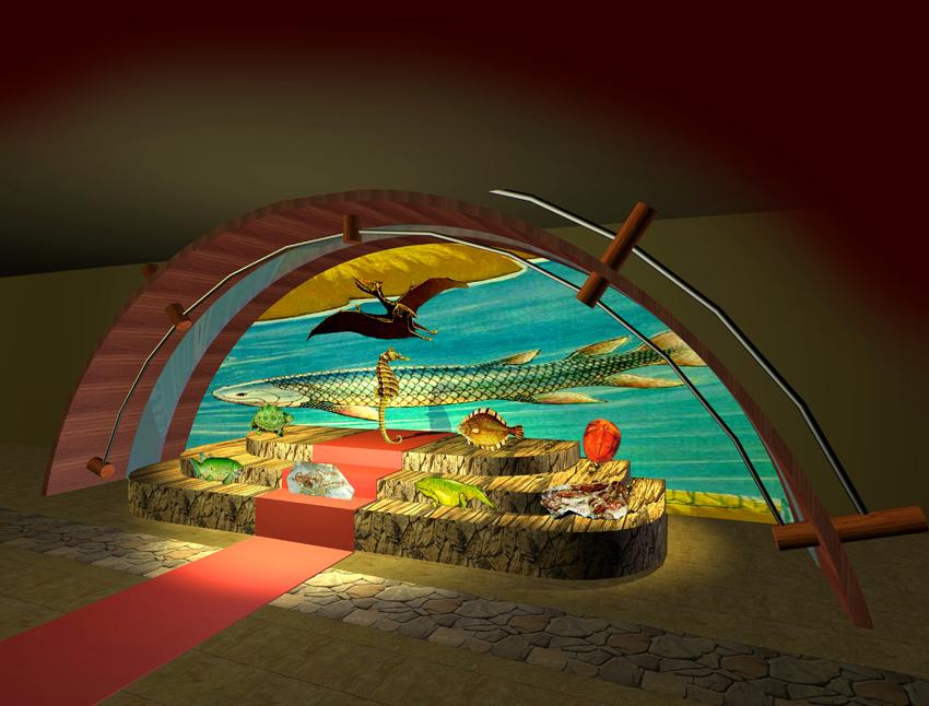 古生物科学馆概念设计效果图