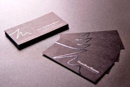 名片工艺印刷的运用,让设计、印刷工艺不分离。