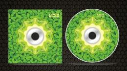 绿叶低碳环保cd封面设计