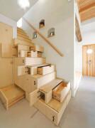 特别节省空间的楼梯夫人创意室内设计