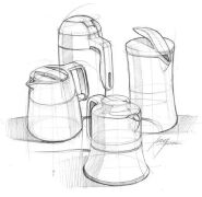 产品工业设计手绘