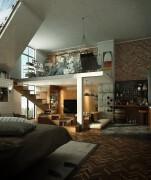 国外Loft阁楼装修设计欣赏