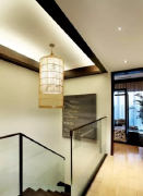 復式樓梯走廊吊頂裝修效果圖