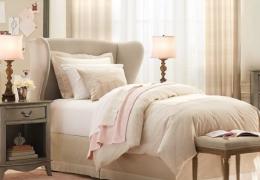 时尚甜美的家庭室内装修样板房效果图