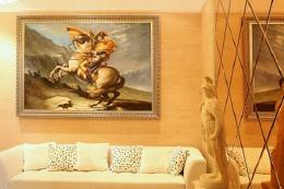 时尚典雅家庭室内装修样板房效果图欣赏