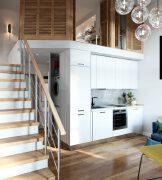 5个很温馨的loft小户型装修设计图