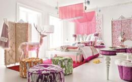 童话般梦幻的小卧室装修效果图欣赏