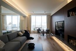 瞬间让小公寓变身大豪宅的现代简约风格