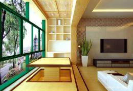非常赞的窗台榻榻米地台装修效果图欣赏
