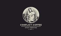 旅游创意的咖啡标志logo设计