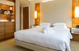 十分舒适的宾馆标准间平面图