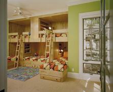5人间的寝室设计效果图欣赏