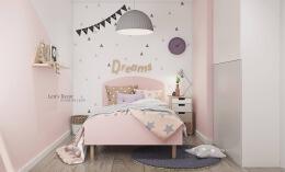5个不停风格的粉红色儿童房装修设计效果图