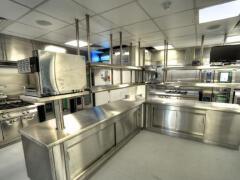 高大上的商用厨房设计图片欣赏