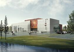 体育馆建筑设计装修效果图欣赏
