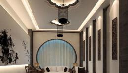 茶室装修效果图设计欣赏