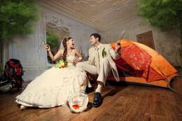 30张国外创意婚纱摄影