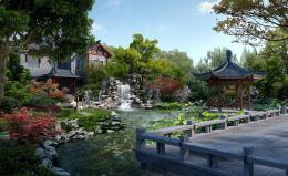 新中式庭院景观设计的特点
