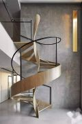 复式楼房装修,16种楼梯设计为室内空间增色,视觉上好看又大气!