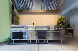 餐馆饭店装修时厨房灶具设计注意事项
