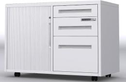 图文结合一次看全移动文件柜——会移动的办公文件柜