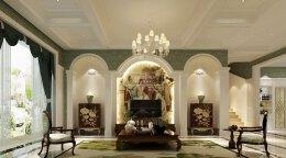 华丽高贵的欧式别墅装修效果图欣赏