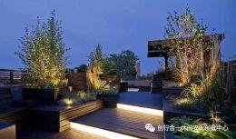 2018国外屋顶花园平面图设计欣赏