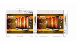 2019高大上的电视包装设计图片欣赏