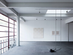简洁留白画廊设计