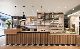 咖啡店吧台设计